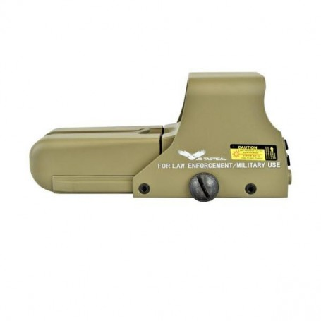 JS-TACTICAL - Viseur holographique 552 TAN ( LONG )