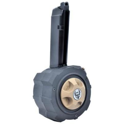 HFC - Chargeur DRUM grande capacité 145 billes pour AG-17